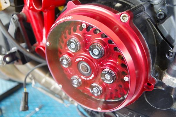 FotoKit modifica frizione a secco Ducati 848
